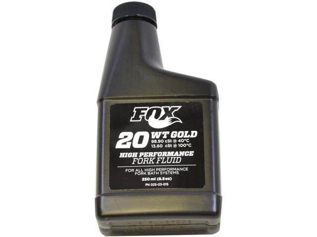 Fox Racing Shox 20 WT Gold Jousitusneste 250ml